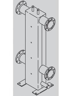 Гидравлический разделитель, тип 300/200 9572918