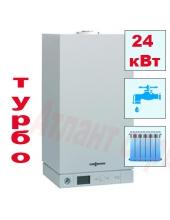 Газовый котел Viessmann Vitopend 100 - 24 кВт двухконтурный турбированный