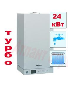 Фото Газовый котел Viessmann Vitopend 100 - 24 кВт двухконтурный турбированный