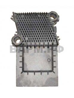 Правый боковой сегмент чугунного теплообменника-7824753